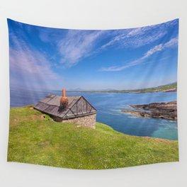 Fisherman`s Hut Wall Tapestry