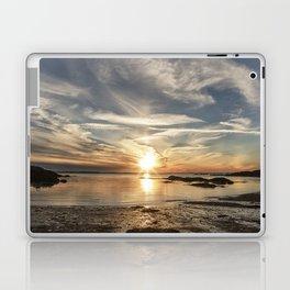 Plumcove Sun pillar Laptop & iPad Skin