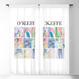 O'Keeffe - Collage Blackout Curtain