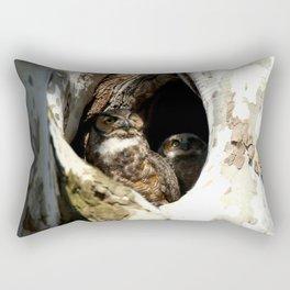 Always focus on the light Rectangular Pillow