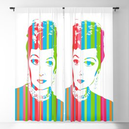 Lucille Ball   Pop Art Blackout Curtain