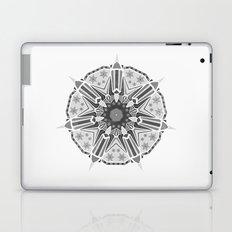 XMAS Mandala - grey Laptop & iPad Skin