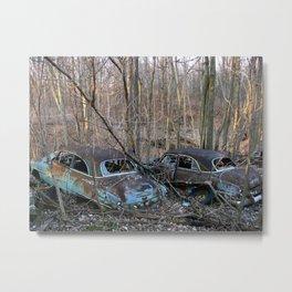 Rusted Classics Metal Print