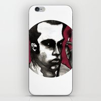 nick cave iPhone & iPod Skins featuring Nick Cave by Rafols
