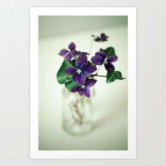 Sweet Violet Art Print