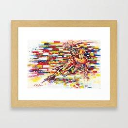 Flow - Apolo Anton Ohno  Framed Art Print