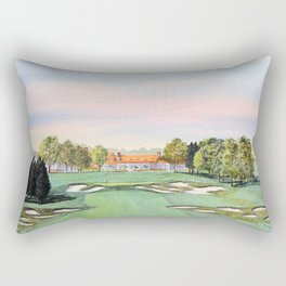 Bethpage State Park Golf Course Rectangular Pillow