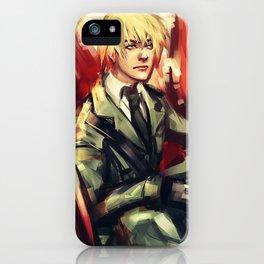 Arthur Kirkland iPhone Case