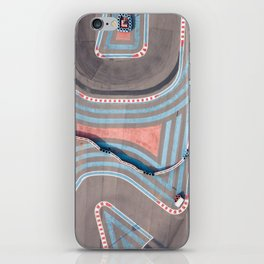 Colors and lines iPhone Skin
