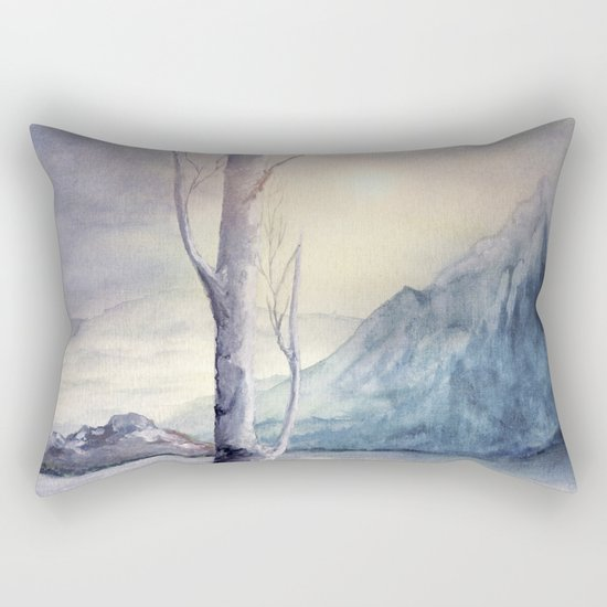 Winter Melody Rectangular Pillow