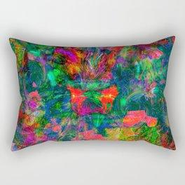Yawn (Agitated Yell) Rectangular Pillow