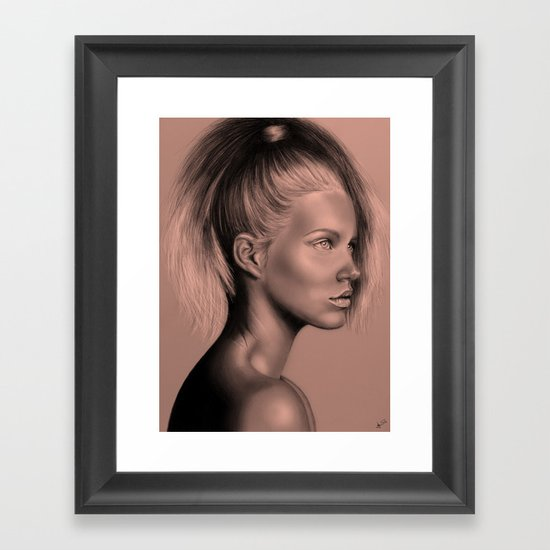 + RUSSIAN DOLL + Framed Art Print