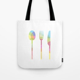 LET'S EAT Tote Bag