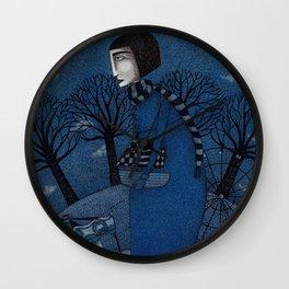 December Park (1) Wall Clock