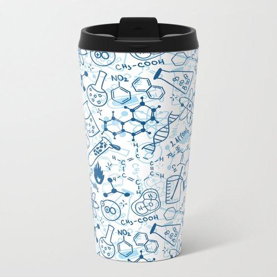 School chemical pattern #2 Metal Travel Mug