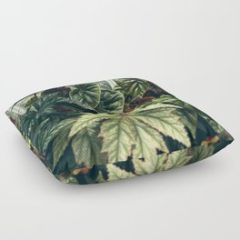 Beautiful Begonias Floor Pillow