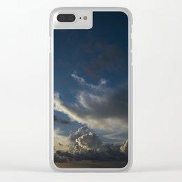 Sunset Cancun Clear iPhone Case