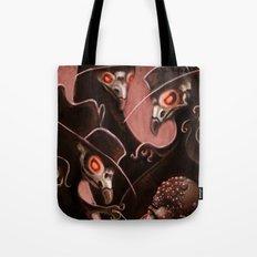 Plague Doctors Tote Bag