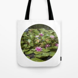 summer garden pond III Tote Bag
