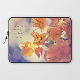Begin with Joy Laptop Sleeve