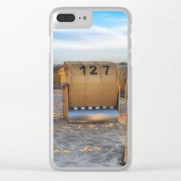 Ocean Beach Clear iPhone Case
