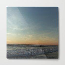 Oceanic landscape: Lacanau  12 Metal Print