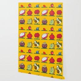 Super Fruits Yoga Wallpaper