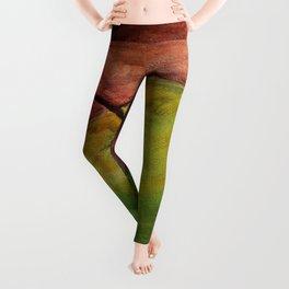 Fresh Green Apple Leggings