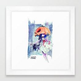 PumpkinHead Framed Art Print