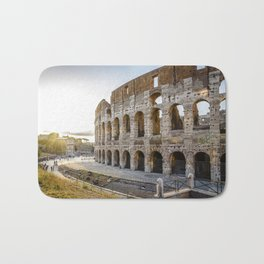 The Colosseum of Rome Bath Mat