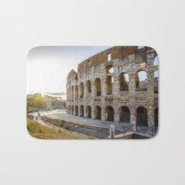 The Colosseum of Rome Bath Mat