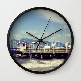 Jericho Beach Wall Clock
