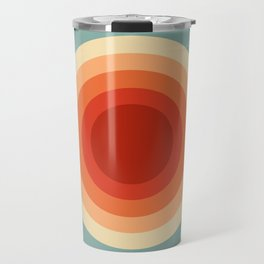 Concentric Circles #1 Travel Mug