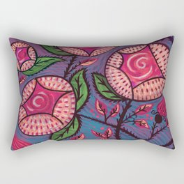 Big Ass Roses Rectangular Pillow