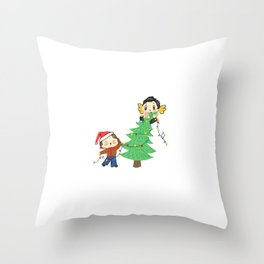 A Very Sassy Christmas Throw Pillow