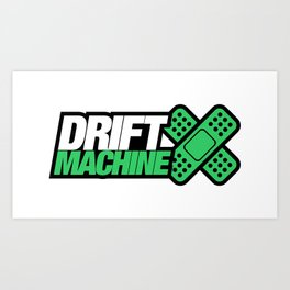 Drift Machine v5 HQvector Art Print