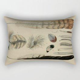 Naturalist Feathers Rectangular Pillow