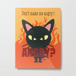Angry Whim Metal Print