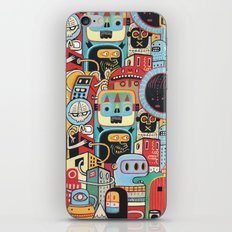 Two monkeys in town iPhone Skin
