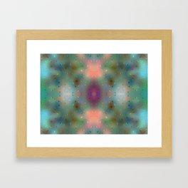 Abstract Dream - Dots Framed Art Print