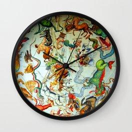 Zodiacs of the Southern Hemisphere Wall Clock