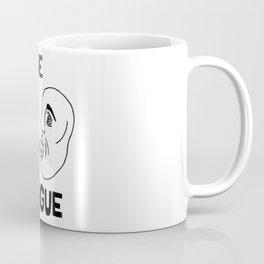 Use Tongue Coffee Mug