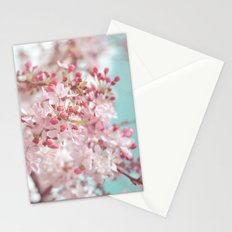 Pink Cherry Blossom Stationery Cards