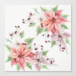 Poinsettia 2 Canvas Print