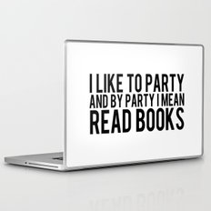 I Like To Party... Laptop & iPad Skin