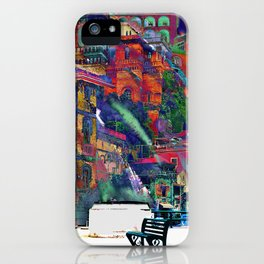 Evening in Sorrento iPhone Case