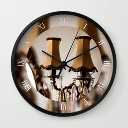 Decorative retro wall night lamp Wall Clock