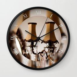Decorative retro wall night lamp Wall Clock