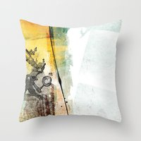 science Throw Pillows featuring science by jastudio