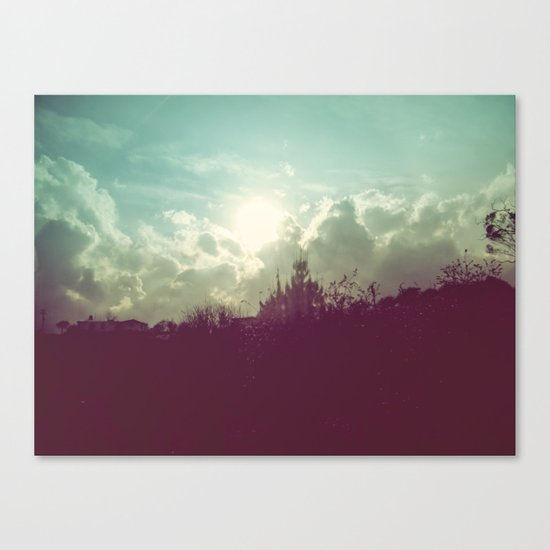Lomovision Place Canvas Print